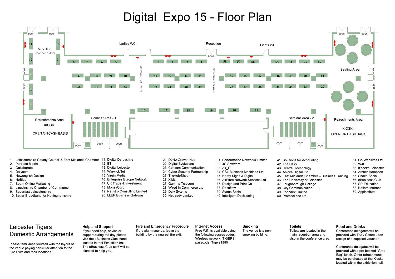 Expo Floor Plan Bt Home Hub 5 Wiring Diagram Digital